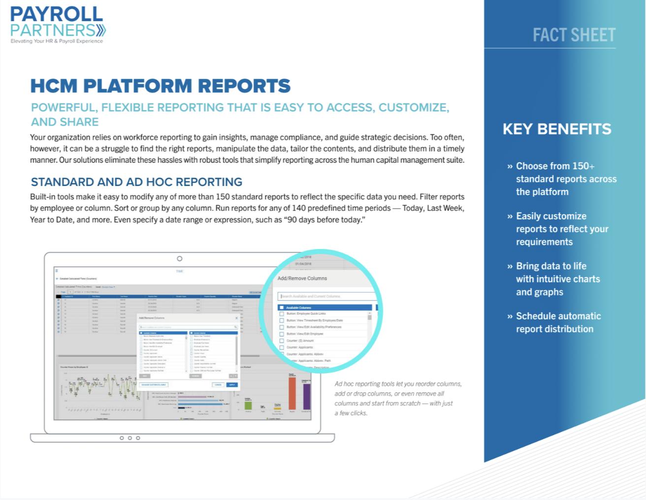 HCM Platform Reports